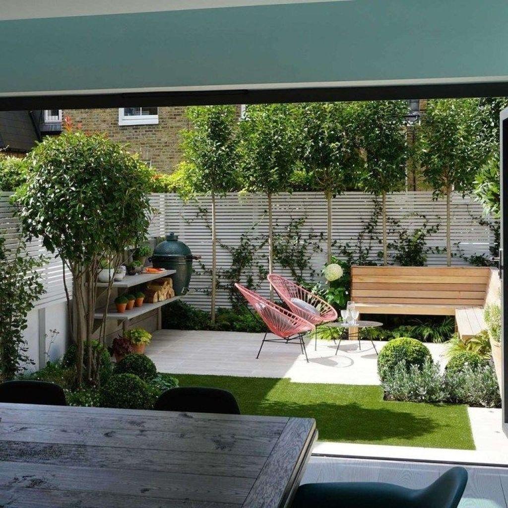 Über 20 schicke Designideen für kleine Innenhofgärten für Sie – mit einer zu…