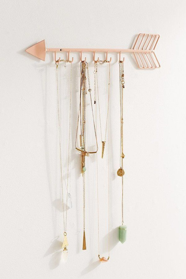 Urban Outfitters Arrow Necklace Organizer Urban Outfitters