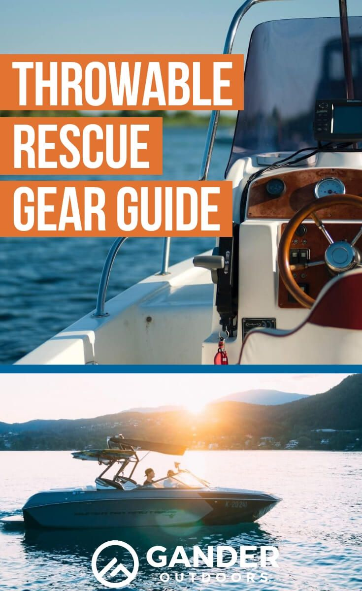 Throwable Rescue Gear Guide in 2020 Boating tips, Boat