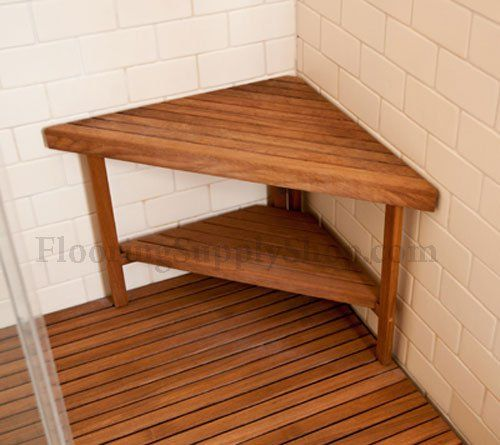 Teak Corner Bench Small By Flooringsupplyshop Com With Images