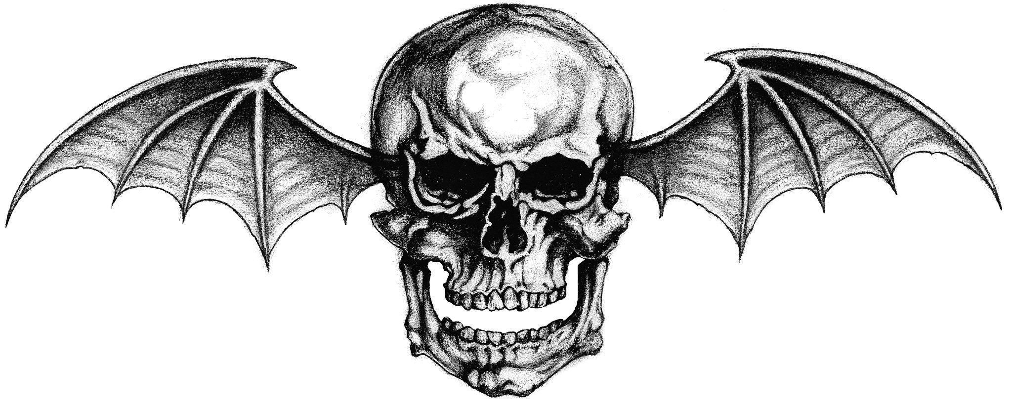 Avenged Sevenfold deathbat logo Avenged sevenfold tattoo