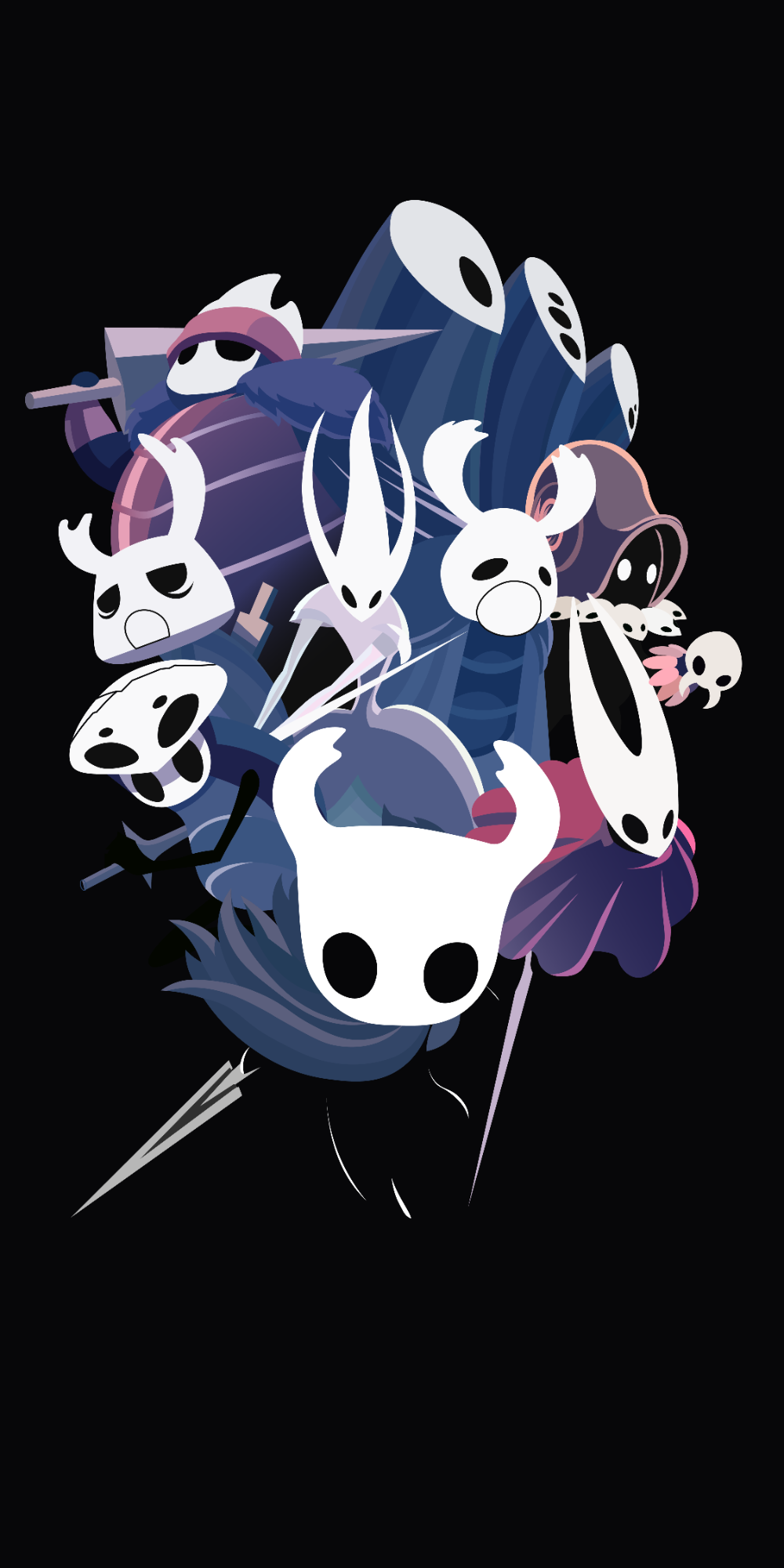 Android Hollow Knight Phone Wallpaper 3d Wallpapers Hollow Art Knight Iphone Wallpaper