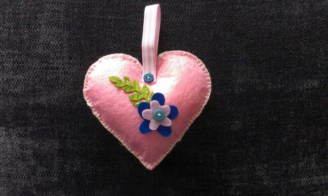 Scented heart for Jayne