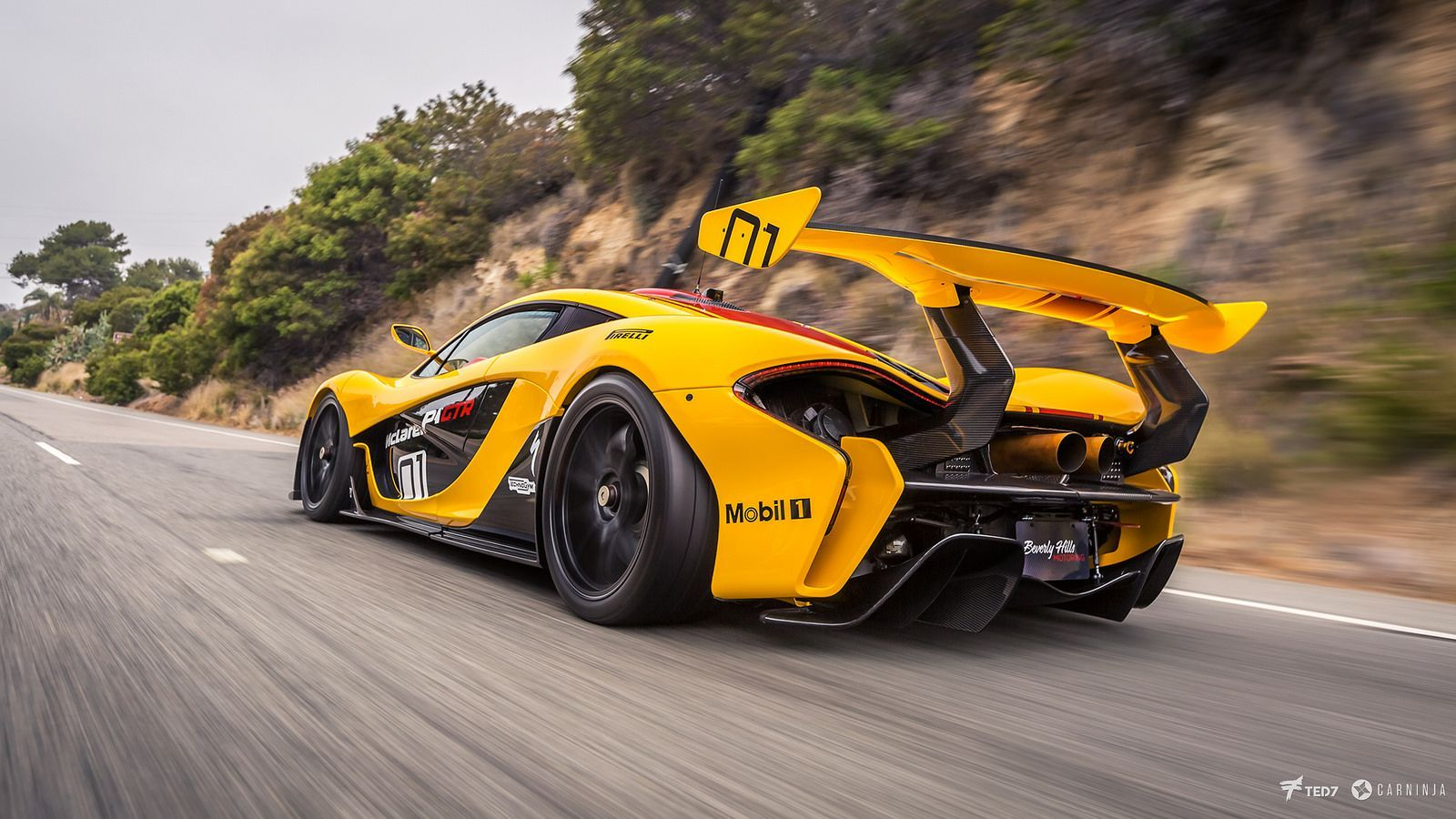 McLaren P1 GTR by I am Ted7 Mclaren sports car