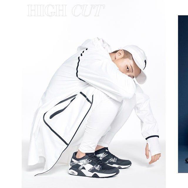 [Picture/IG] HIGHCUT × PUMA : BTS – 'Spring Boy Scouts' HIGH CUT Vol. 171 [160408]