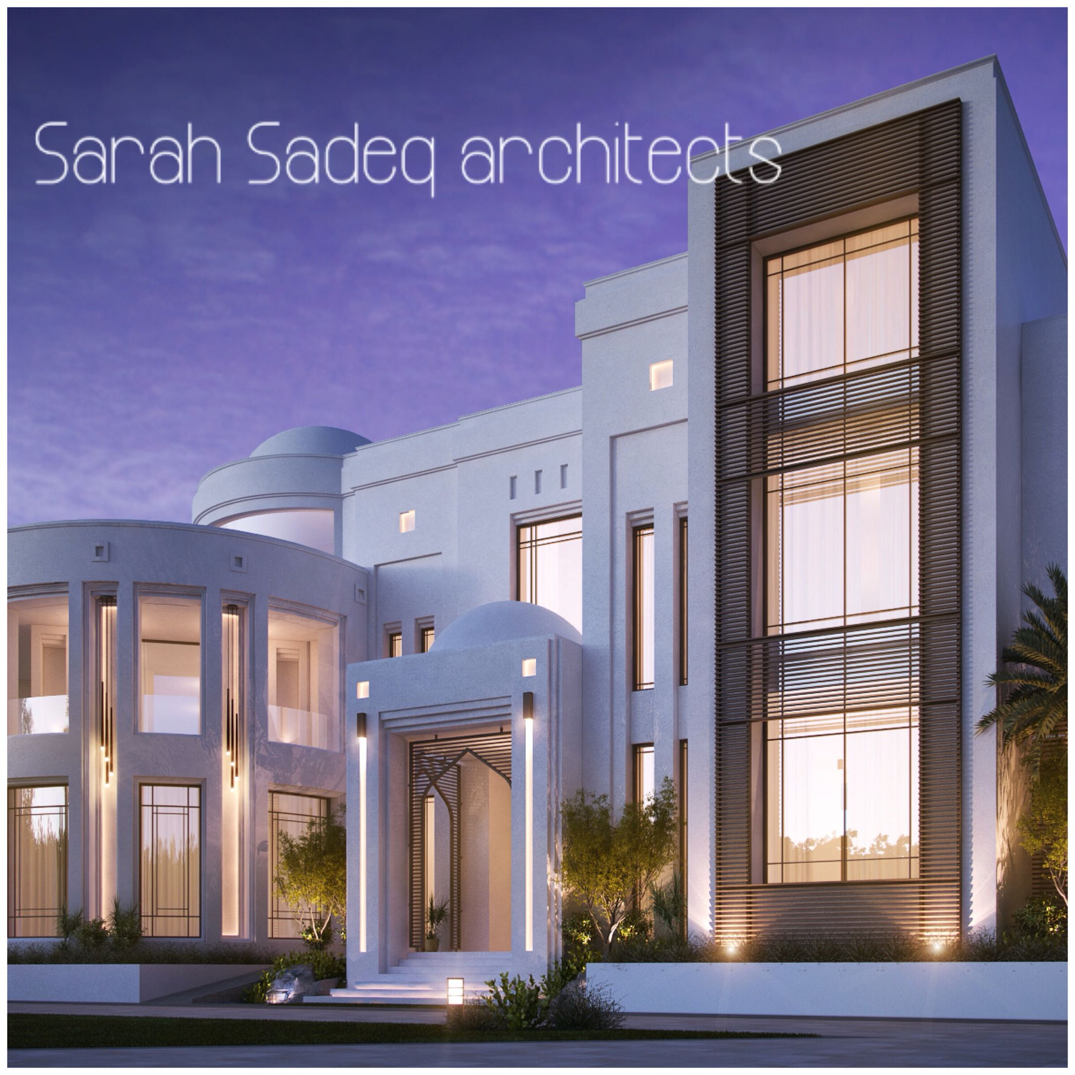 2000 m , private villa , Kuwait | sarah sadeq architectes ...