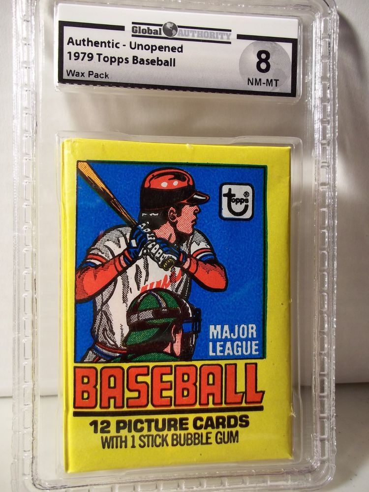 1979 topps baseball pack gai nmmt 8 possible ozzie smith