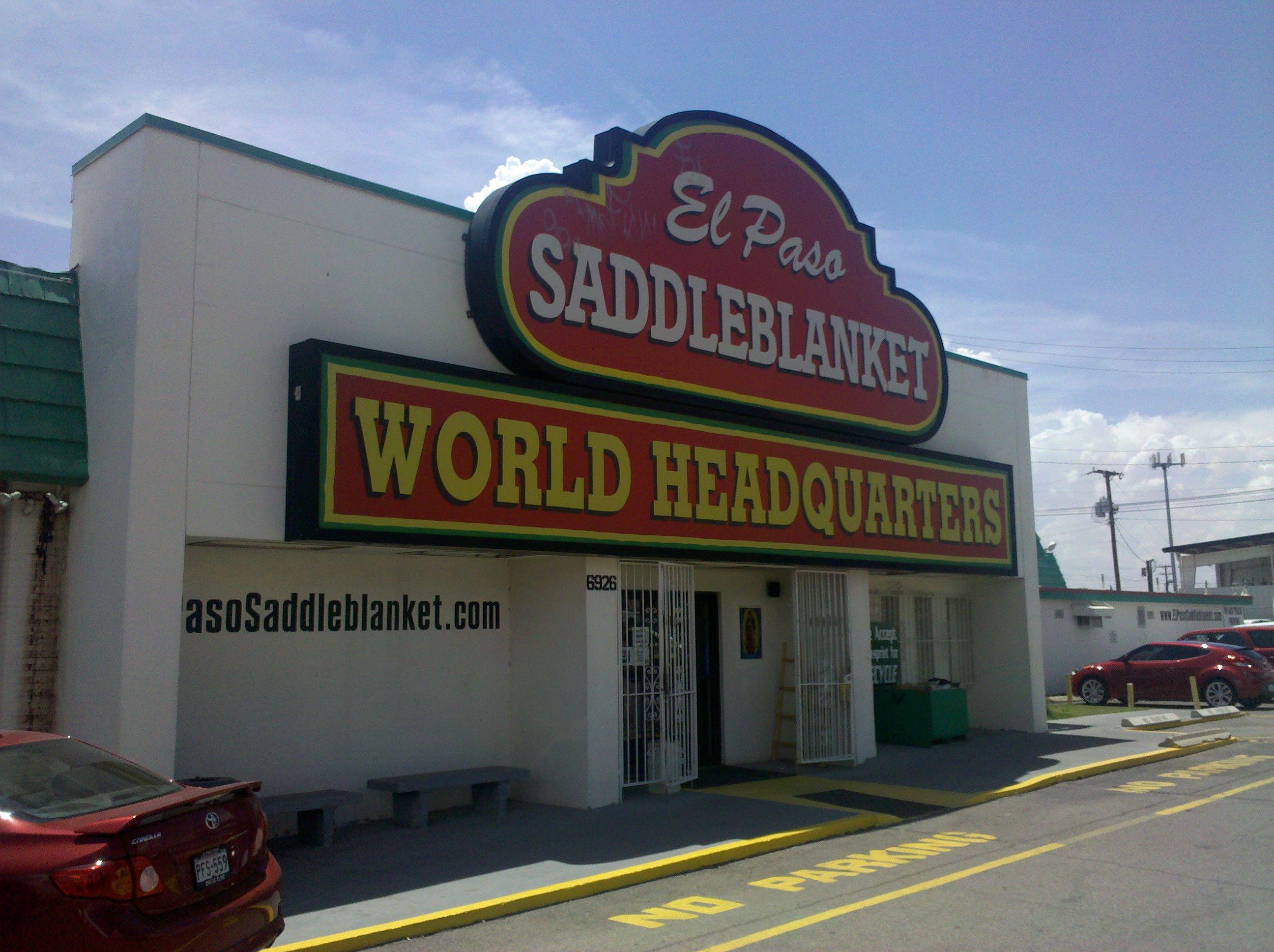 Saddleblanket Texas And Florida El Paso West Texas Places