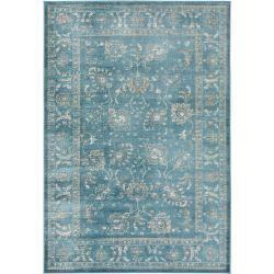 Photo of benuta carpet velvet blue 120×170 cm – vintage carpet in used look benuta