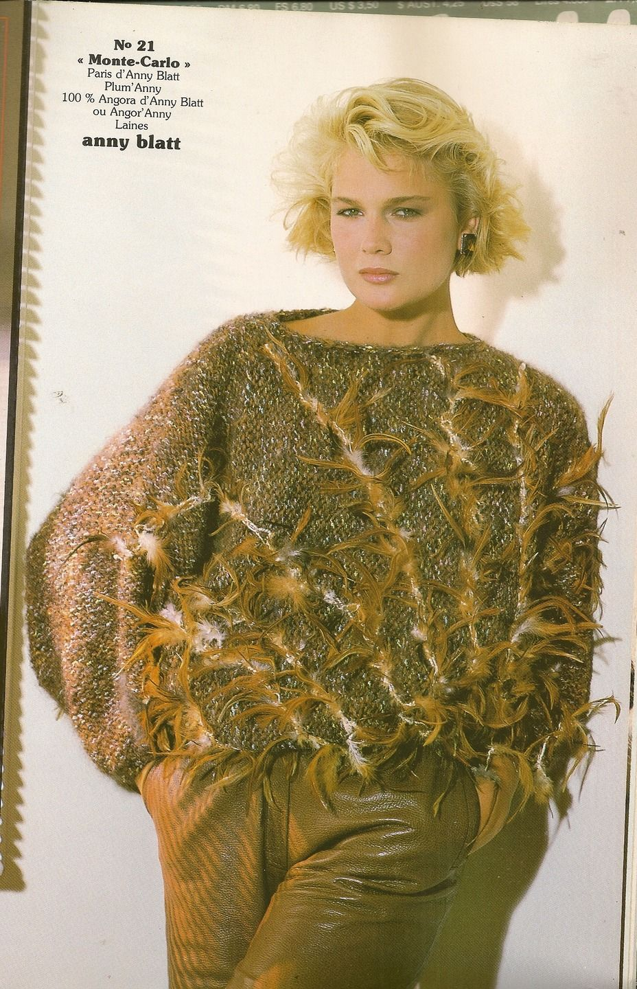 MAGAZINE ANNY BLATT N°59 tricot SPECIAL COUTURE