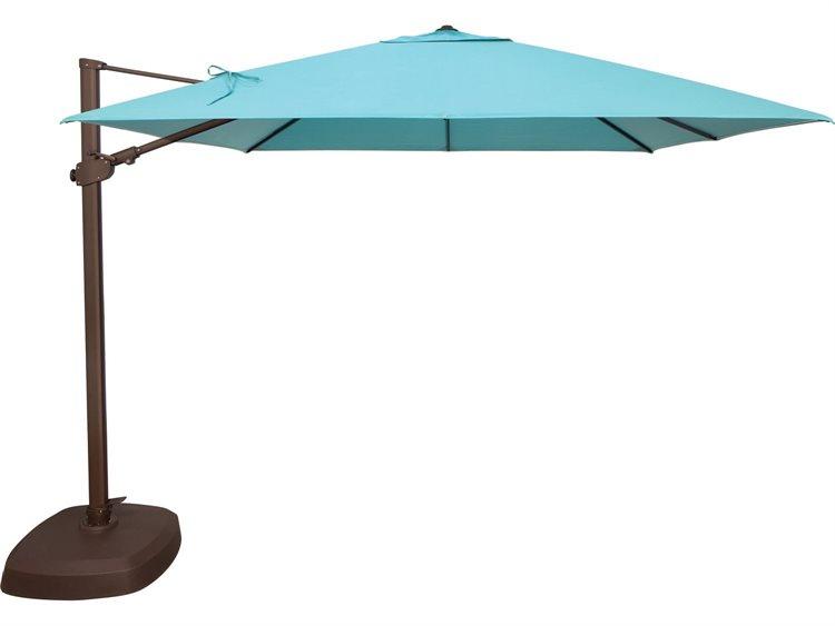 Treasure Garden 10 Ag25tsqr Square Cantilever Umbrella In 2020 Cantilever Patio Umbrella Patio Umbrella Cantilever Umbrella