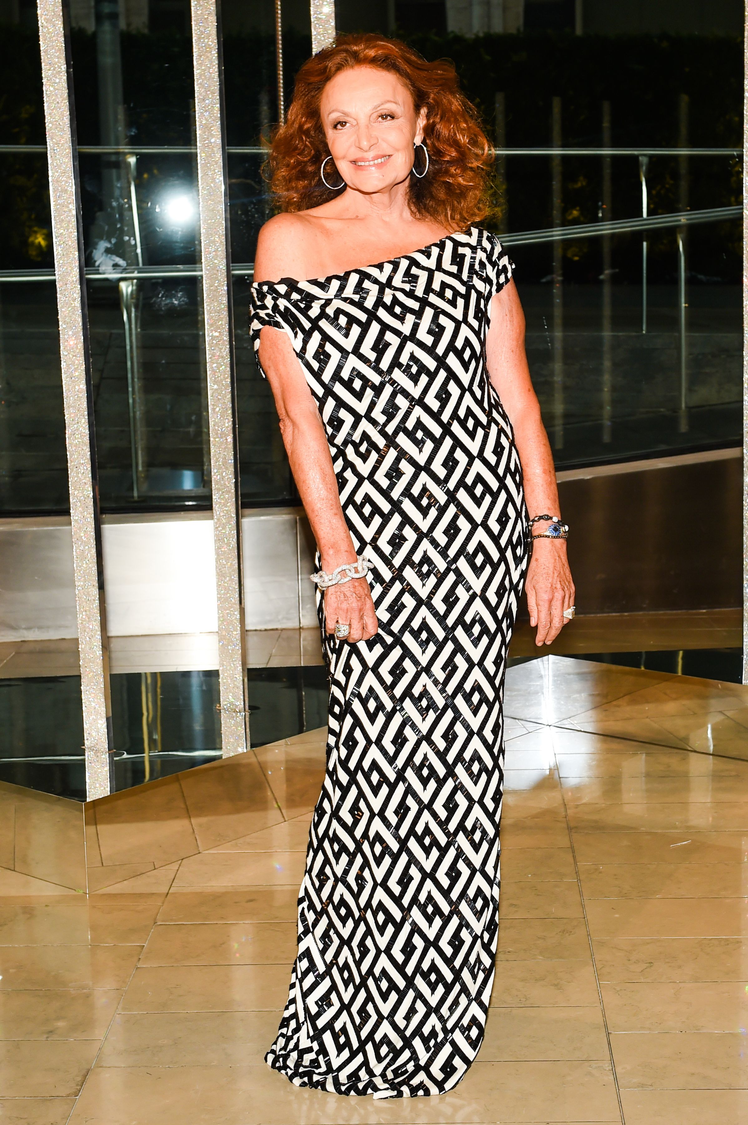 Diane in a custom DVF gown at the 2015 CFDA Awards http://on.dvf.com ...