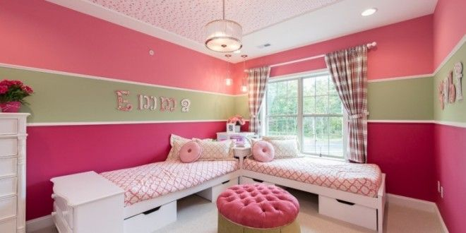 Babyzimmer wände streichen  wand-streichen-kinderzimmer-pink-madchenzimmer › MalerTV.de ...