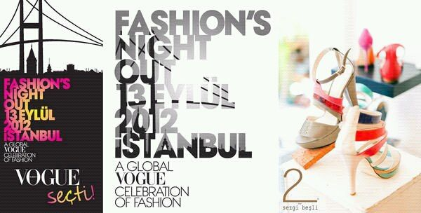 Istanbul Fashion Night Out Poster