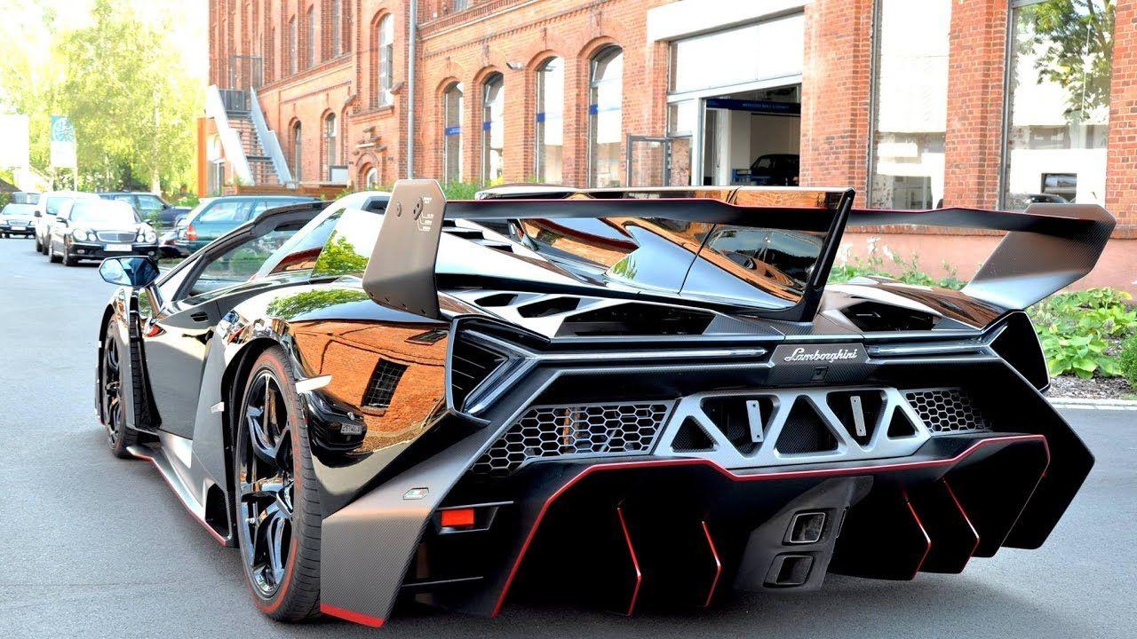 Top 10 Rarest Supercars Ever Lamborghini Veneno Lamborghini Super Cars