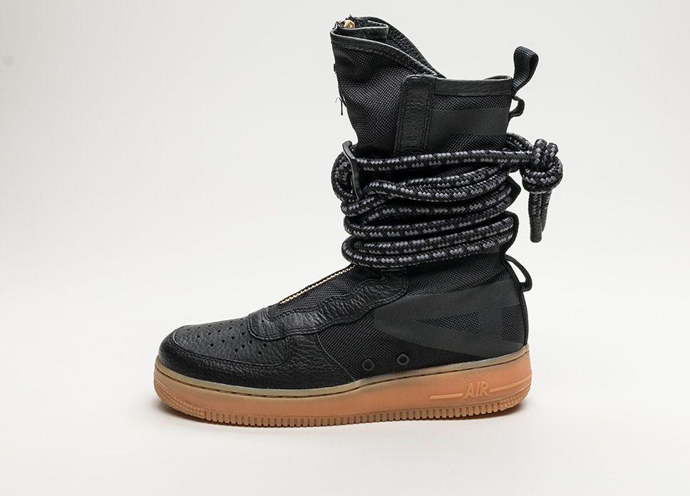 8fbb185b118c Nike SF Air Force 1 High (Black   Black – Gum Med Brown)  lpu  sneaker   sneakers