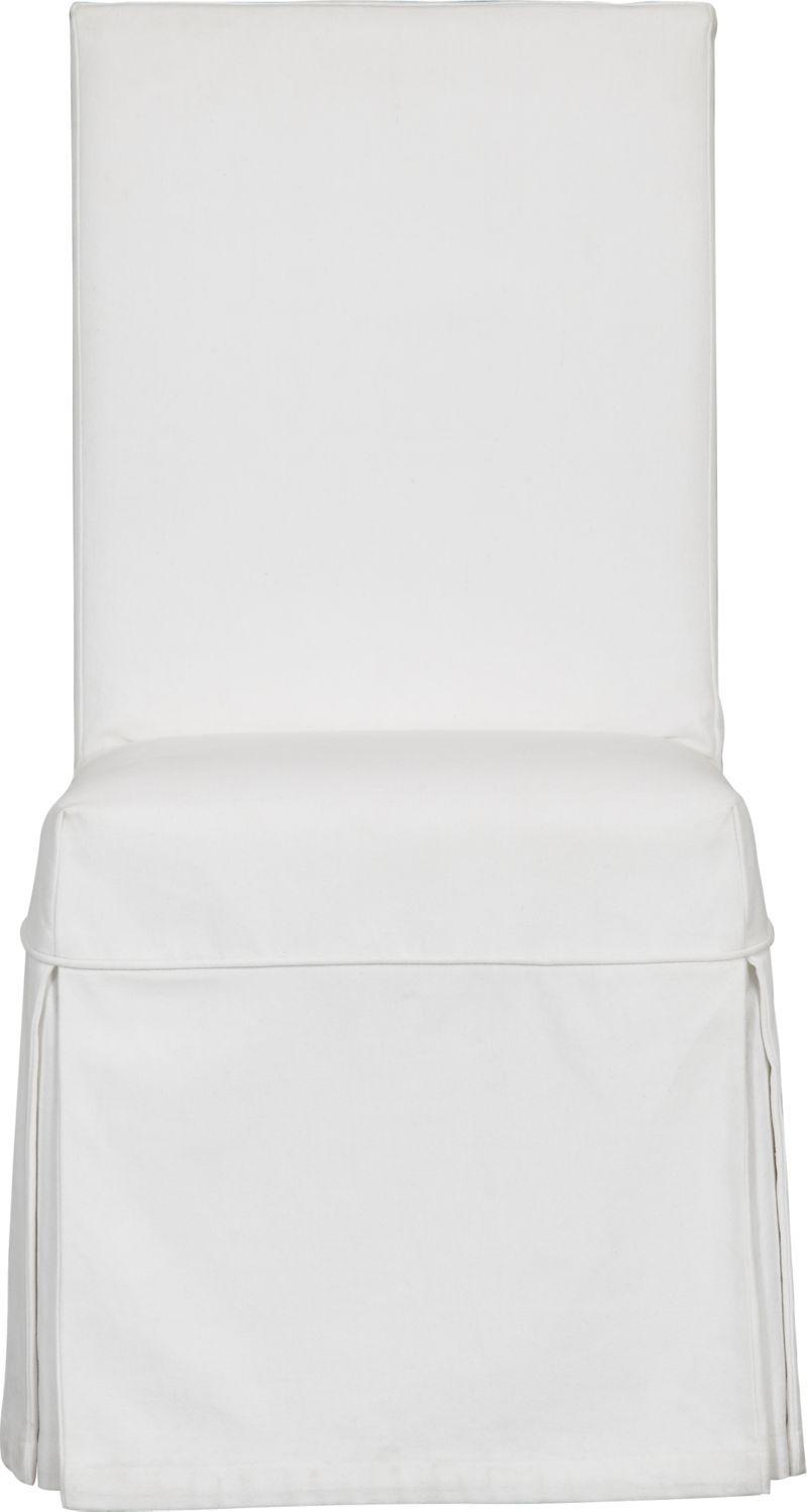 White Slipcover For Slip Side Chair White Slipcovers Slipcovers Side Chairs