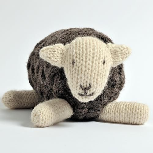 Herdy Sheep Toy Free Knitting Pattern And More Sheep And Lamb