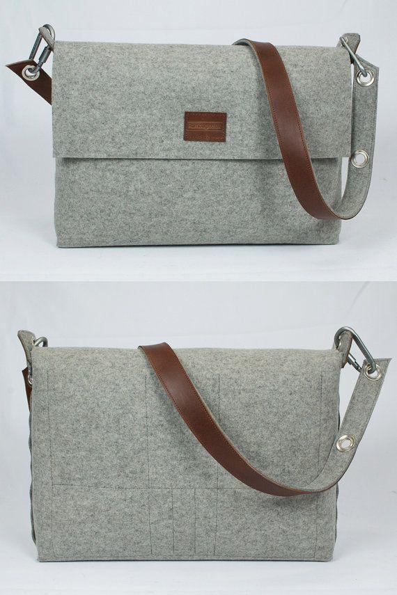 A3 Messenger Bag Mens satchel bag   A3 paper size bag   by Rambag ... 9ca32c5666074