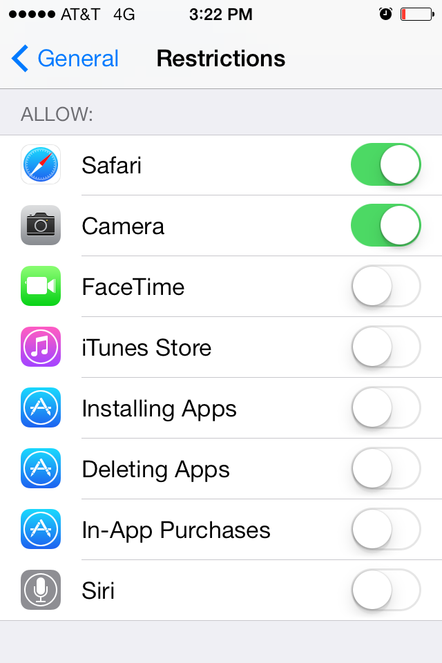 How to Set Up Safe Web Browsing on iOS7 Iphone hacks