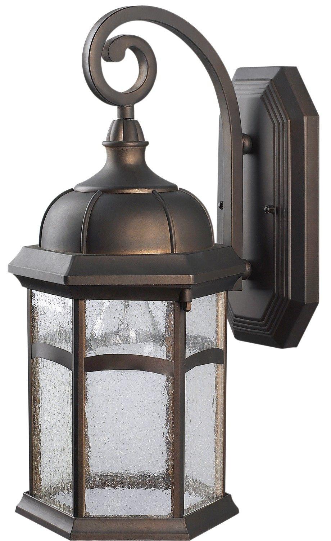 Canarm Iol9113 Outdoor 1 Light Downlight Oil Rubbed Bronze Exterior Lights Residential Lig Exterior Lighting Exterior Light Fixtures Outdoor Wall Lighting