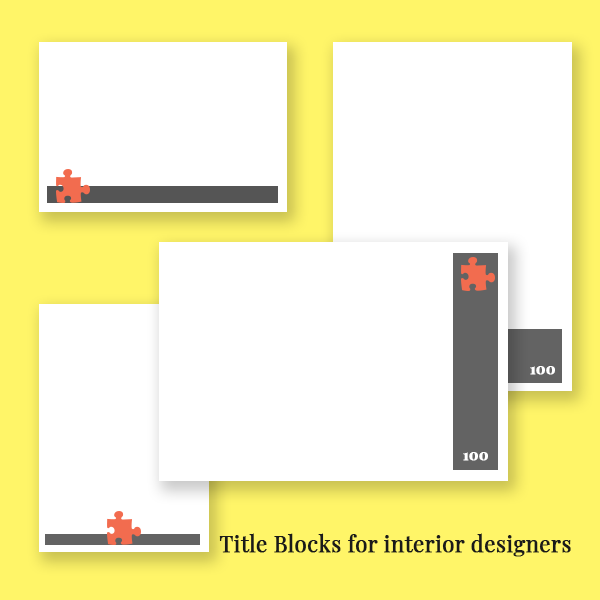 Anatomy Of Title Blocks For Interior Designers Title Block Interior Design Sketches Interior Design Software