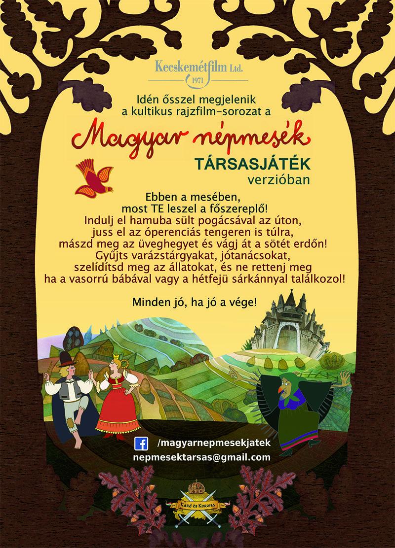 Magyar Népmesék sorozat honlapja. Az összes epizód képekkel videóval és a készítők adataival.