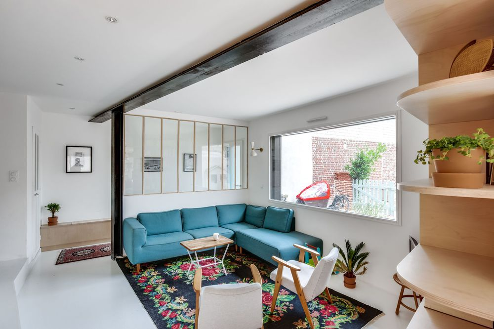 Deco De Salon Plus De 50 Photos Pour Mettre L Ambiance Verriere Bois Maison Et Decoration Maison