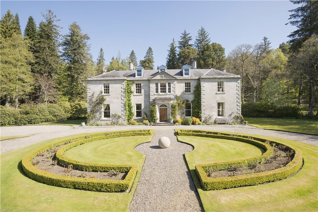calvine pitlochry house for sale with strutt parker chateaus rh pinterest com