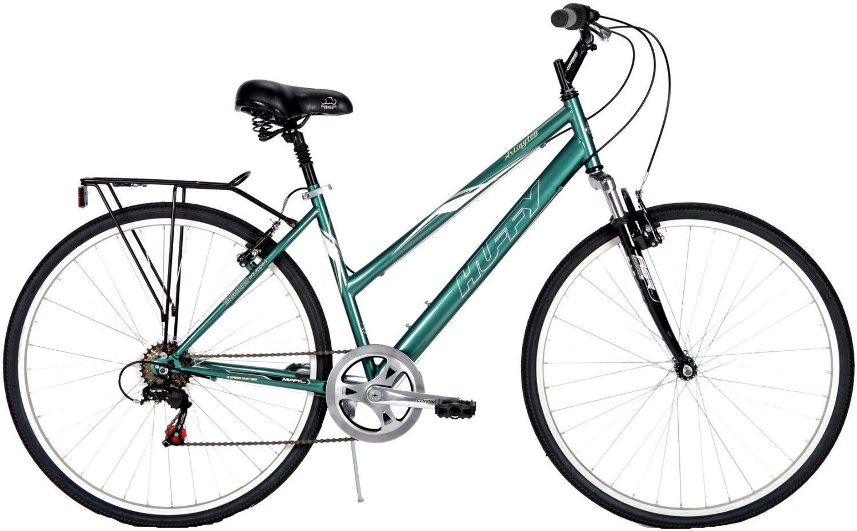 Amazon Com Huffy 26 Inch Ladies Arlington Bike Green Sports