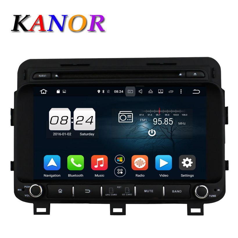 Kanor 1024 600 Android 6 0 Car Dvd Gps For Kia K5 2014 2015