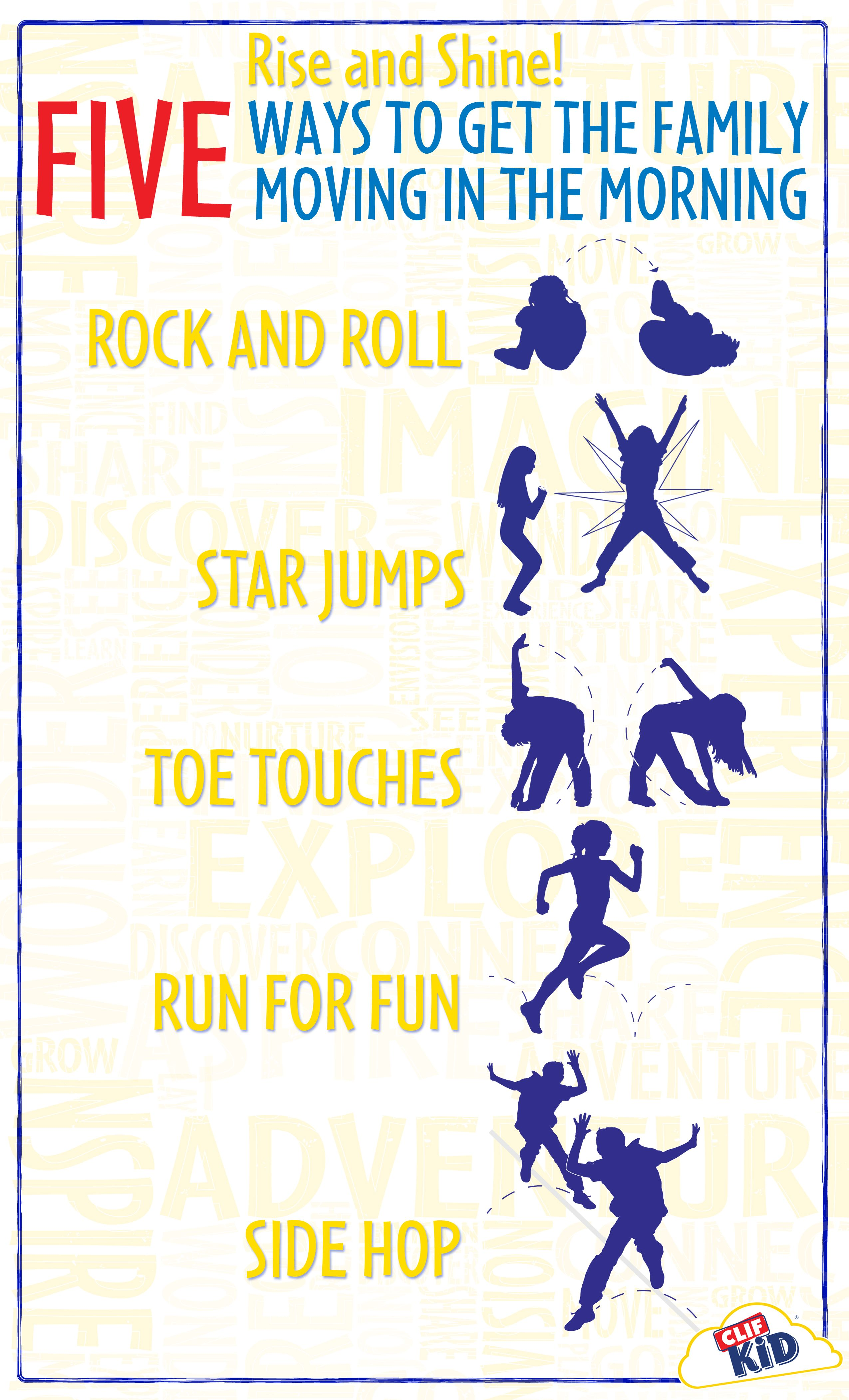 Creative Ways To Build Physical Activity Into The Morning