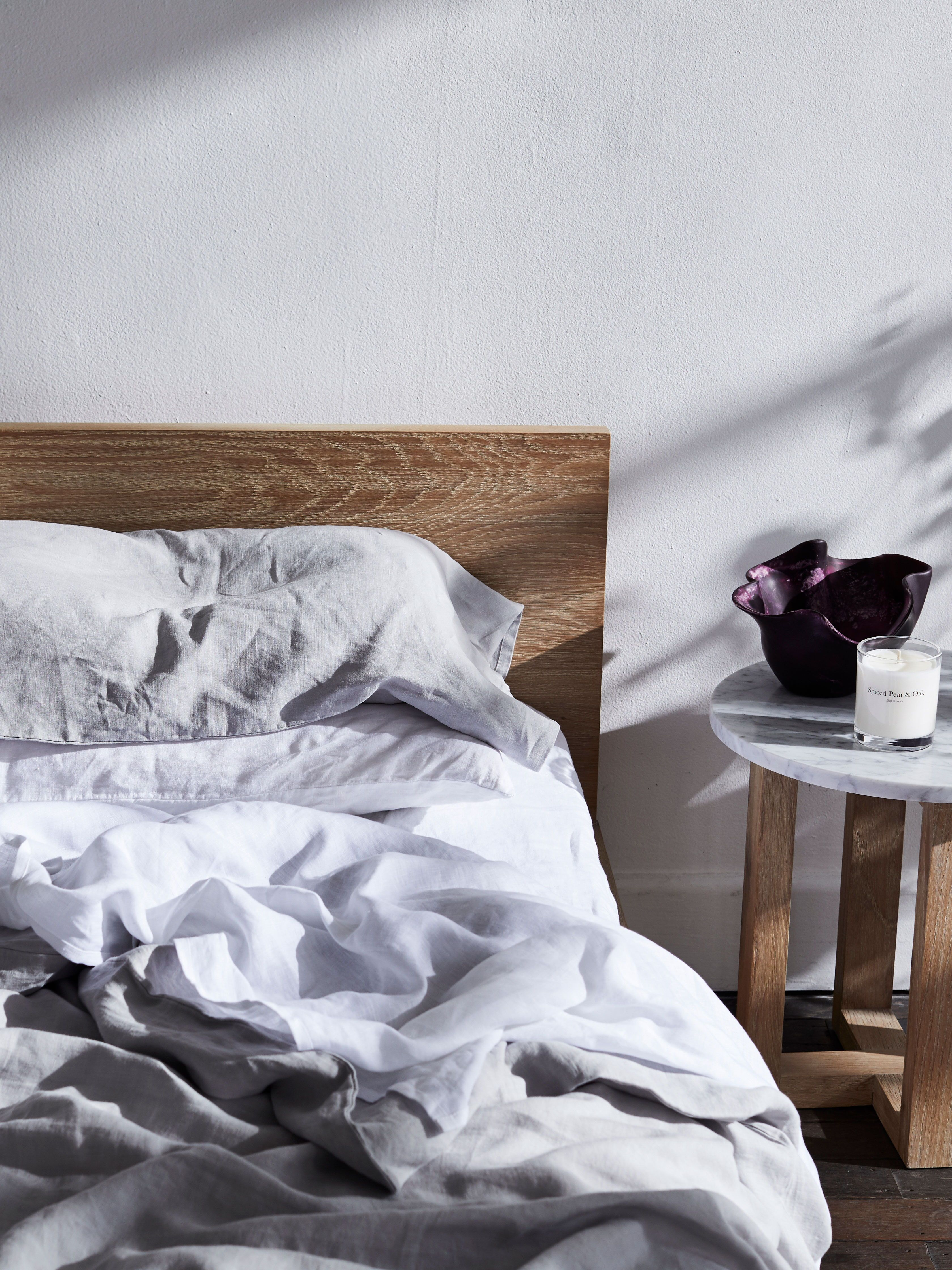 Cosy Comfortable Linen Bedding That Creates A Beautiful Bedroom Our 100 Flax
