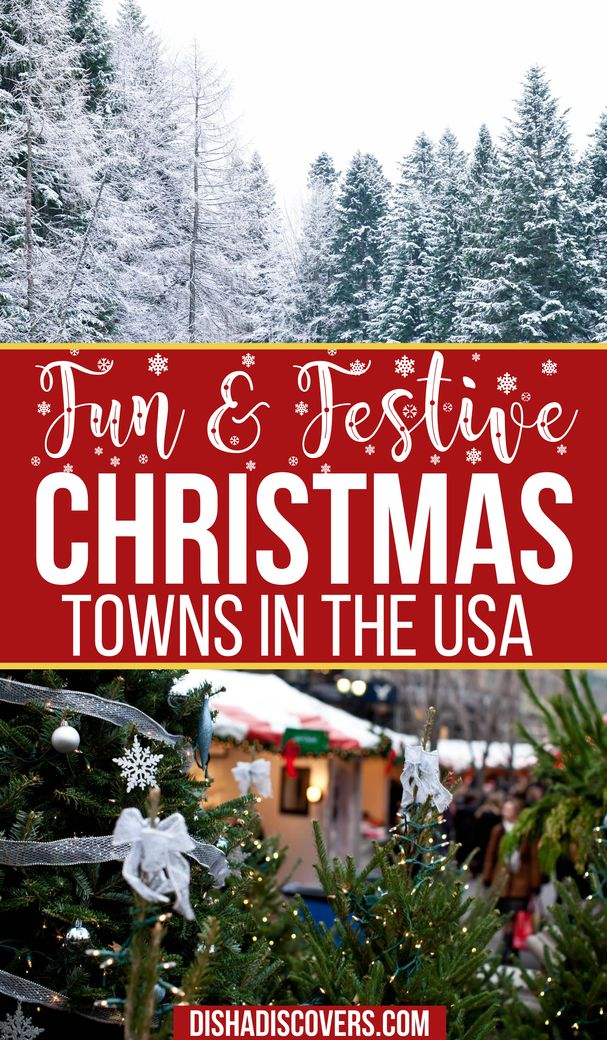 Usa Christmas Destinations 11 Of The Best Holiday Getaways In America In 2020 Christmas Destinations Christmas Travel Destinations Christmas Vacation Destinations