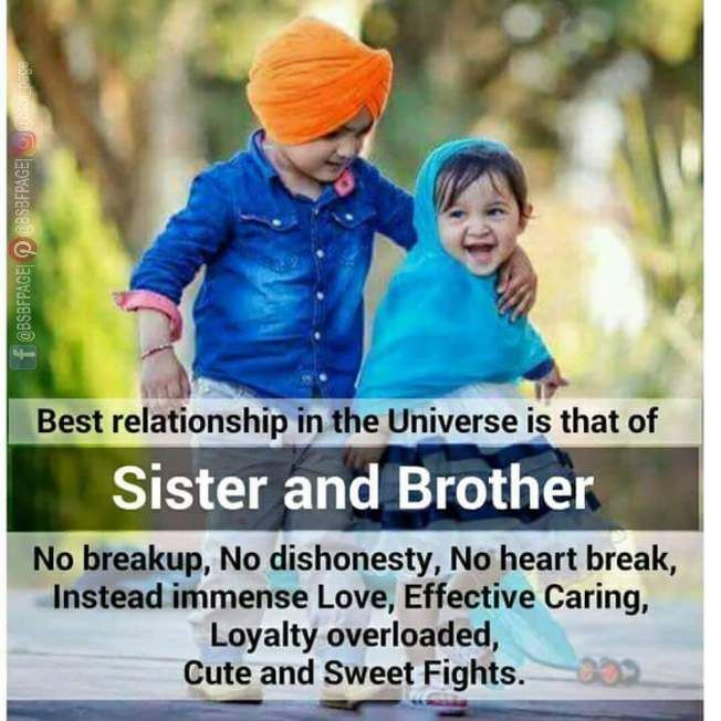 Best Relationship In The Universe Brother Sister Quotes Funny Sister Love Quotes Siblings Funny Quotes