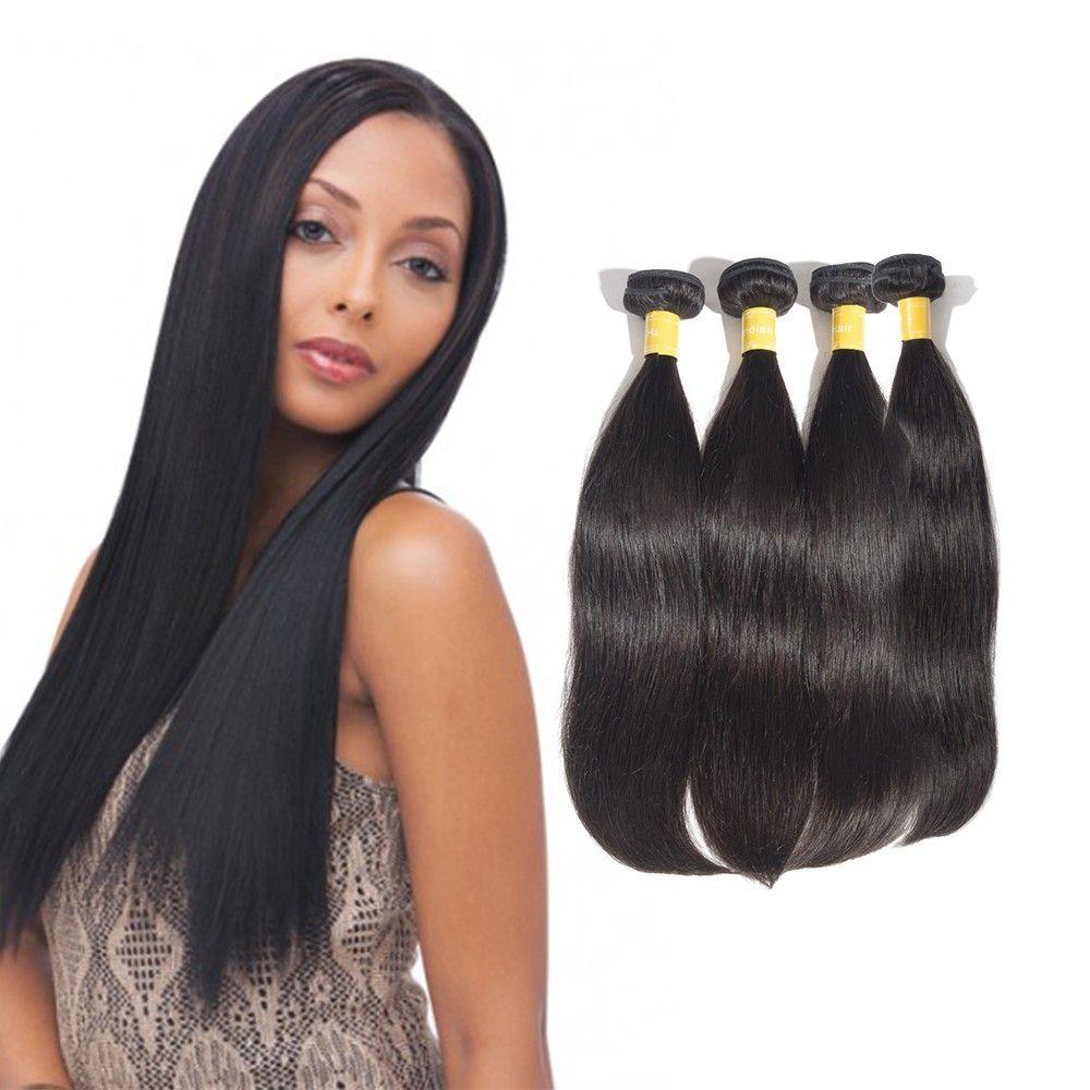 100 Royalty Virgin Indian Hair Straight Bundles Royalty Hair
