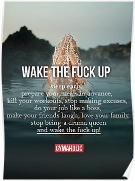 Bodybuilding Fitness inspirierend Zitat und Sprichwort | Poster  #bodybuilding #fitness #inspirieren...