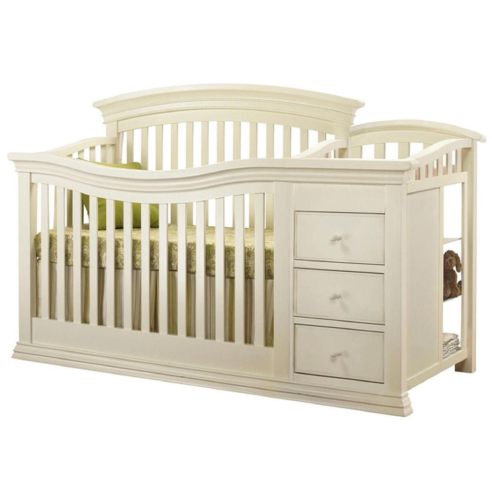 You Can Convert The Sorelle Verona 4 In 1 Lifetime Convertible Crib And Changer