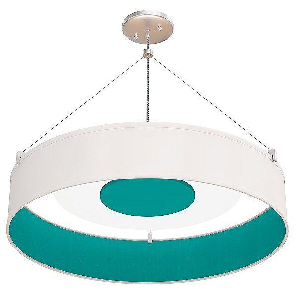 Photo of Seascape Lamps Kai LED Drum Pendant Light – SL_Kai_T