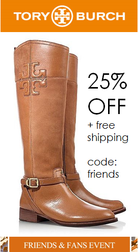 f615a73b3cf84 Enjoy 25% OFF at the Tory Burch  friends  amp  family sale  when