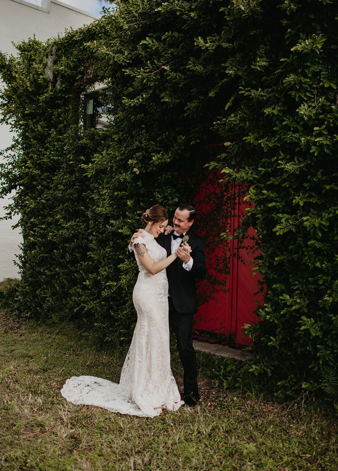 All of our couples seem to find the secret red door of ...