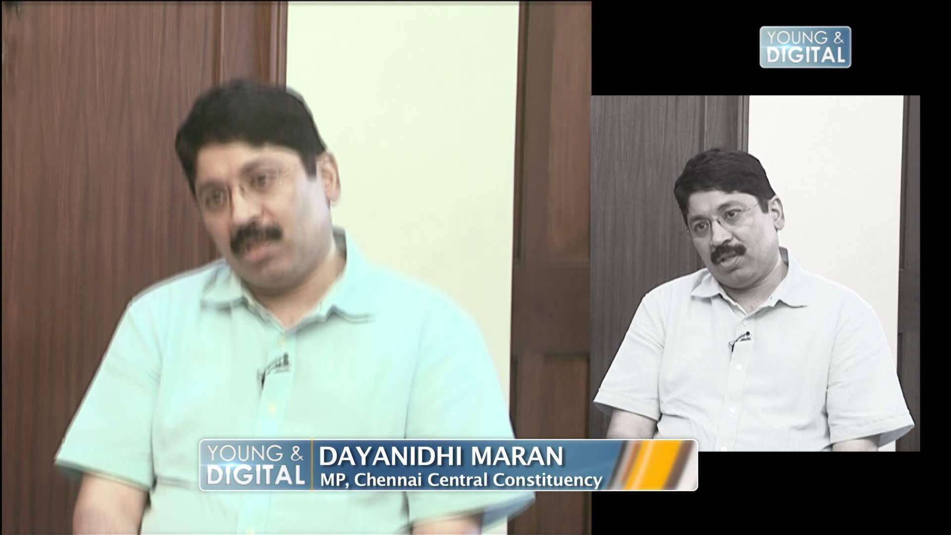 Dayanidhi Maran Mp Chennai Central Constituency Young Digital Chennai Maran Young