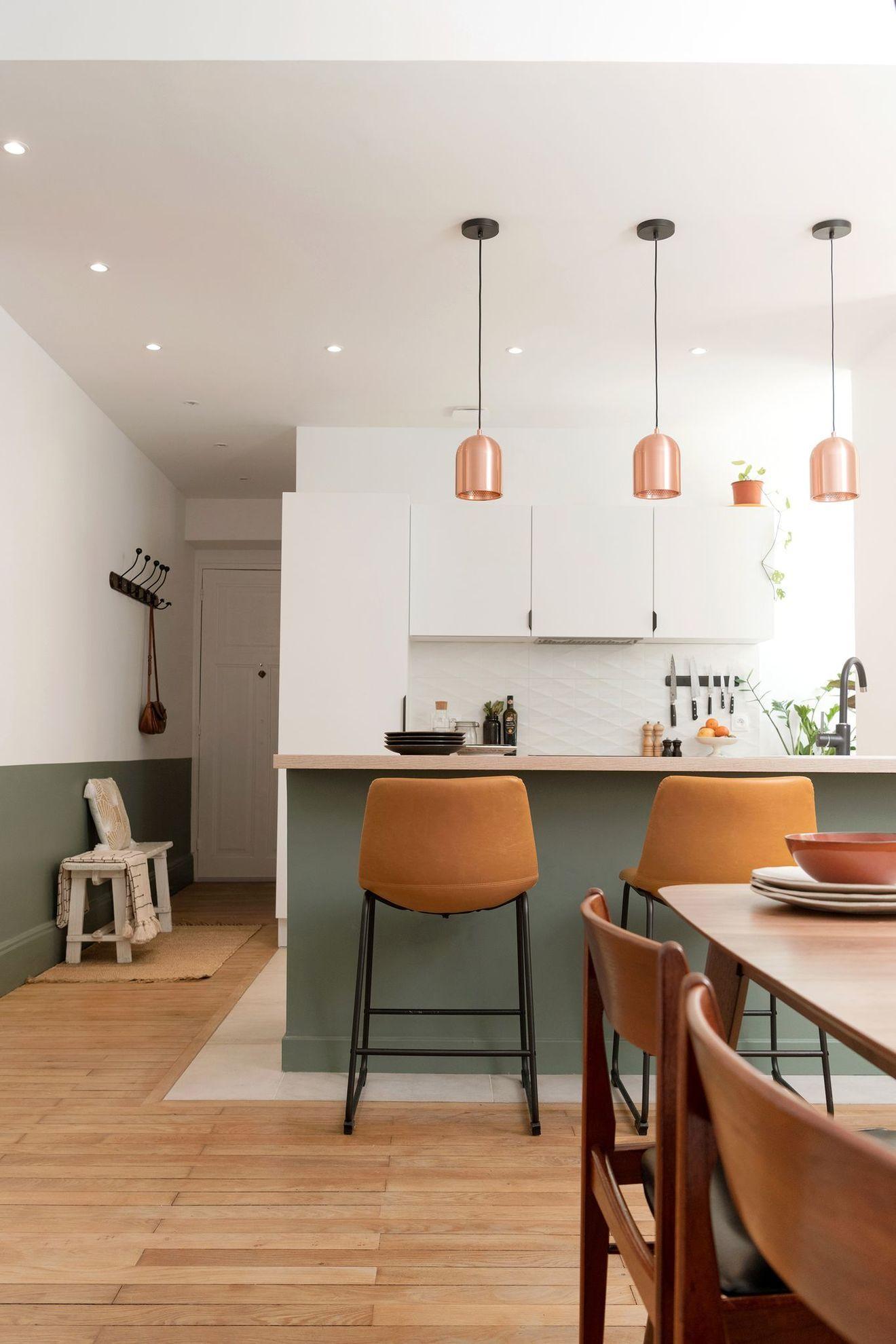 Photo of Appartement Lyon 5 : un deux-pièces repensé avec cuisine ouverte