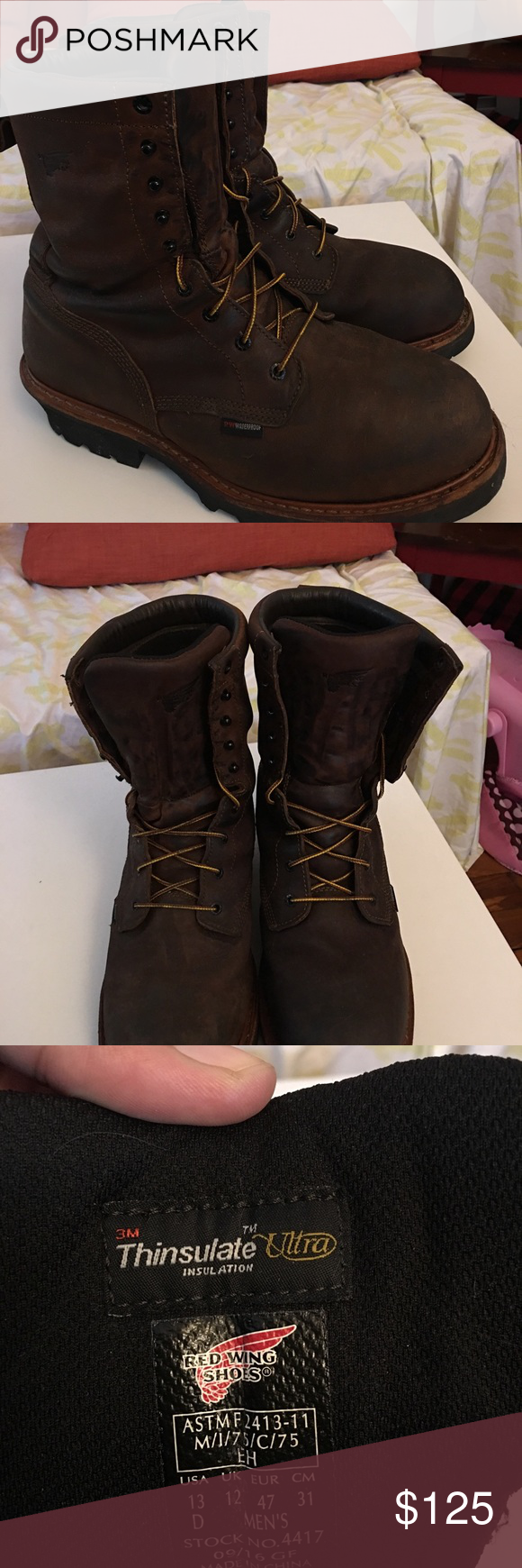 042b5d59ea9 Red Wing 4417 Loggers Size 13 D Lightly used for a pair of Red Wing ...