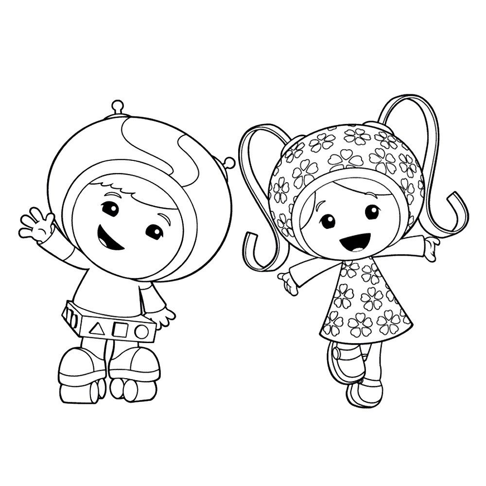 Team Umizoomi Coloring Pages Coloring Book Pinterest