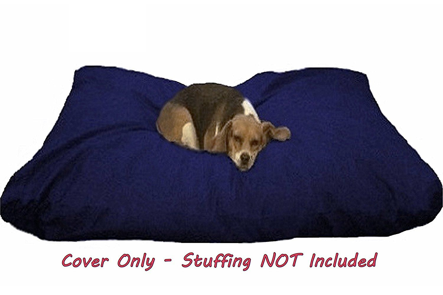 Dogbed4less Diy Durable Blue Denim Pet Bed External Duvet Cover And Waterproof Internal Case For Small Medium To Ext Dog Bed Large Extra Large Dog Bed Dog Bed