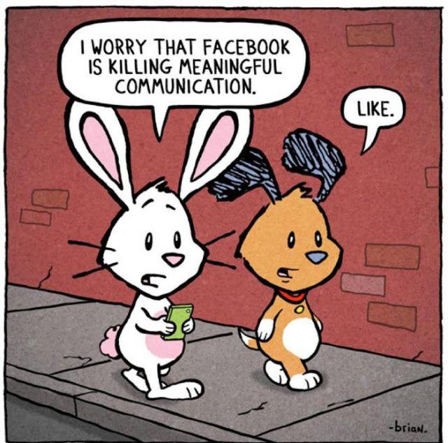 """Hoe beïnvloedt Facebook onze communicatie en hoe communiceren we met elkaar in de toekomst? """"Vind ik leuk"""""""