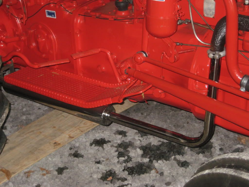 Ford 8n Stainless Exhaust From Steiner Mytractorforum Com The