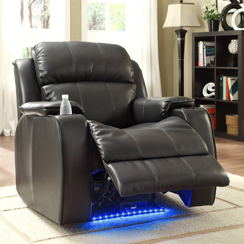 Have To Have It Homelegance Jason Leather Power Recliner