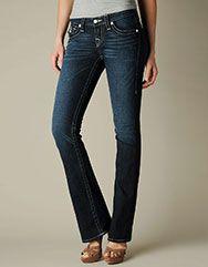 648fe802 True Religion Brand Jeans, TRUE-4244 WOMENS GLITZ & GLAM BECKY JEANS  W/SILVER CRYSTALS - (Pony Express Dark), truereligionbrandjeans.com